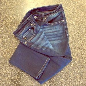 NWOT KanCan Ankle Jeans 28/28